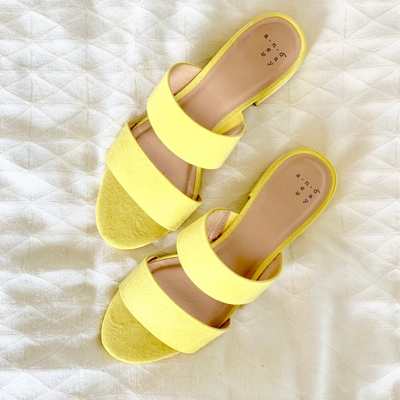 a new day Shoes | Yellow Sandals Target